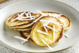 Foto van Coconut pancakes