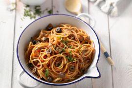 Foto van Spaghetti Puttanesca