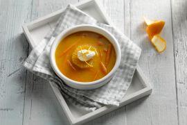 Foto van Pompoensoep met sinaasappel