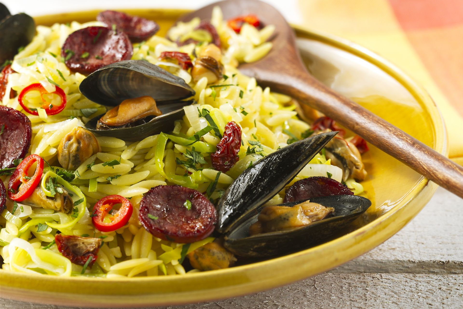 Griekse paella