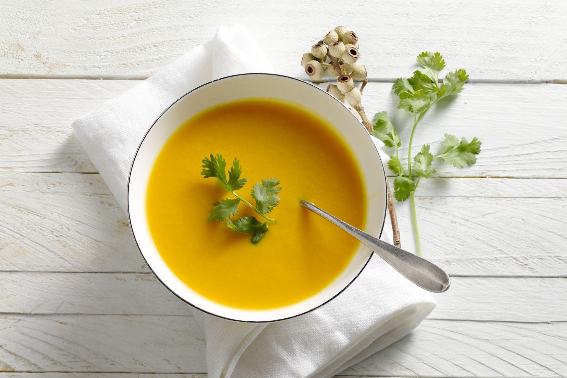 Wortelsoep met sinaasappel