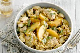 Foto van Couscous met kip en abrikozen