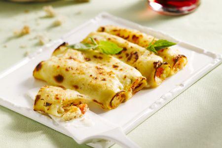 Cannelloni met krab en ricotta