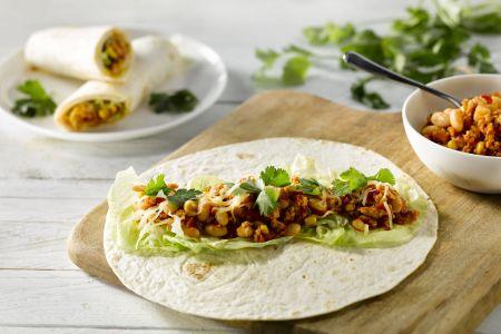 Taco's met kalkoengehakt
