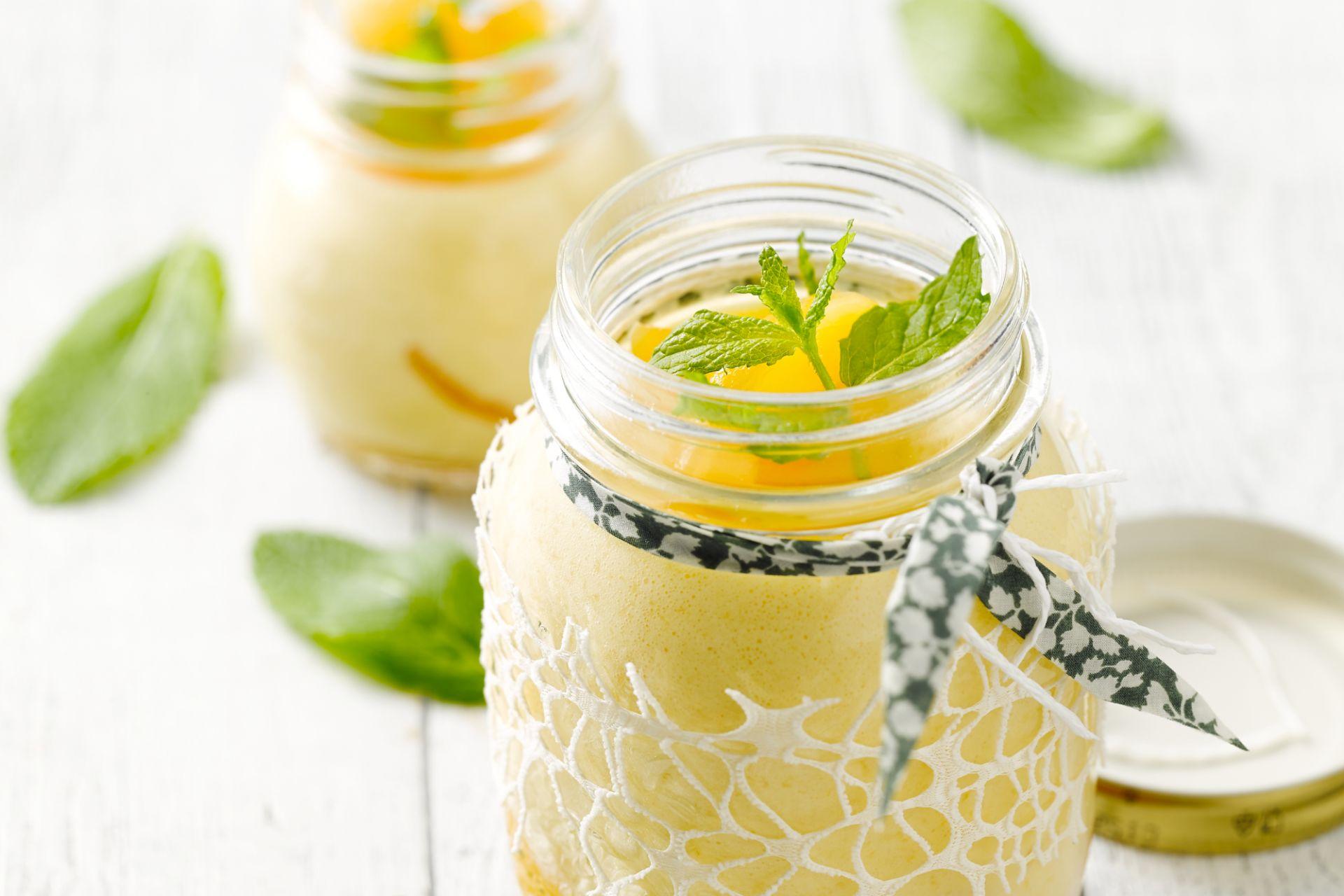 Abrikozen-yoghurtmousse