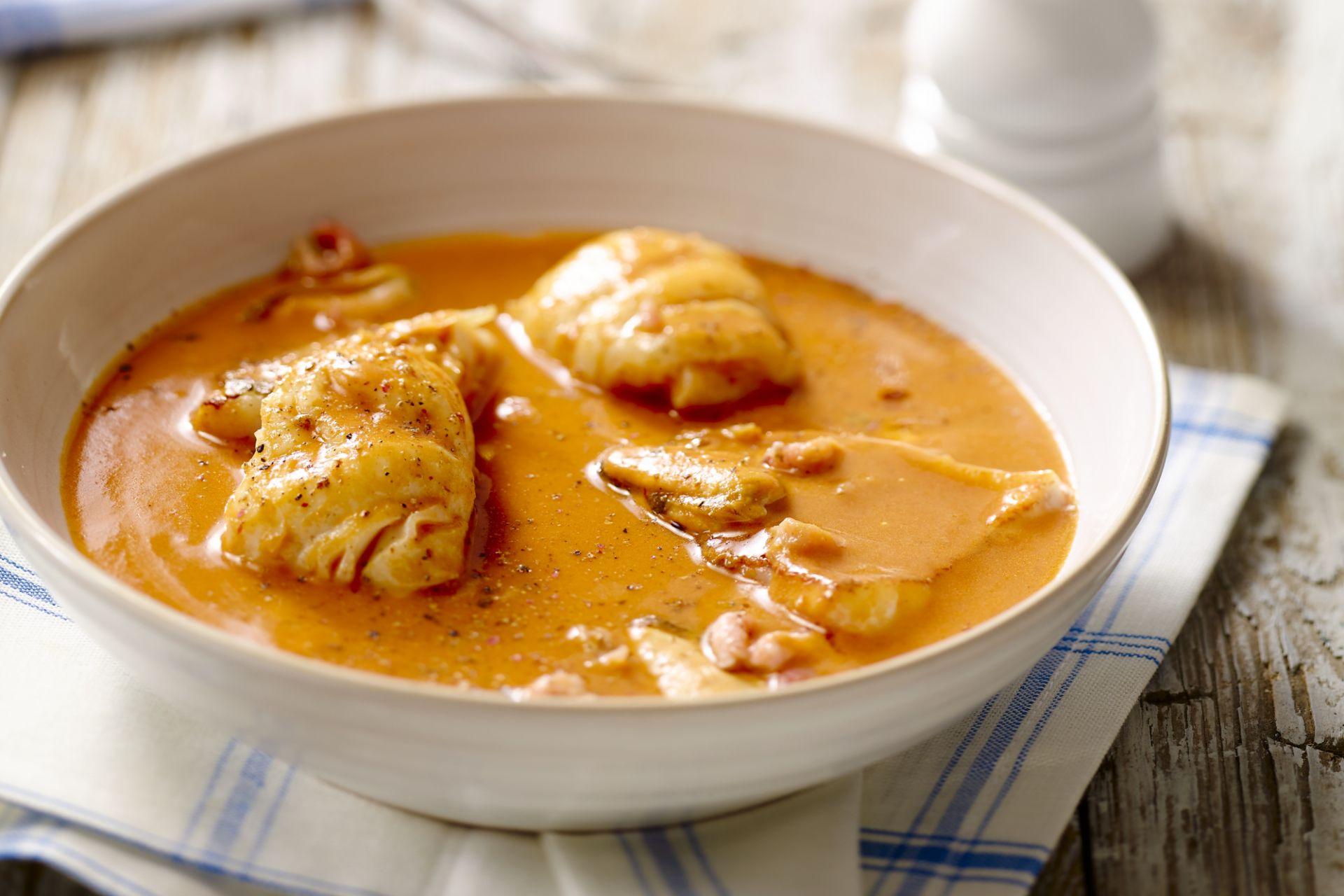 Bouillabaisse met kabeljauw