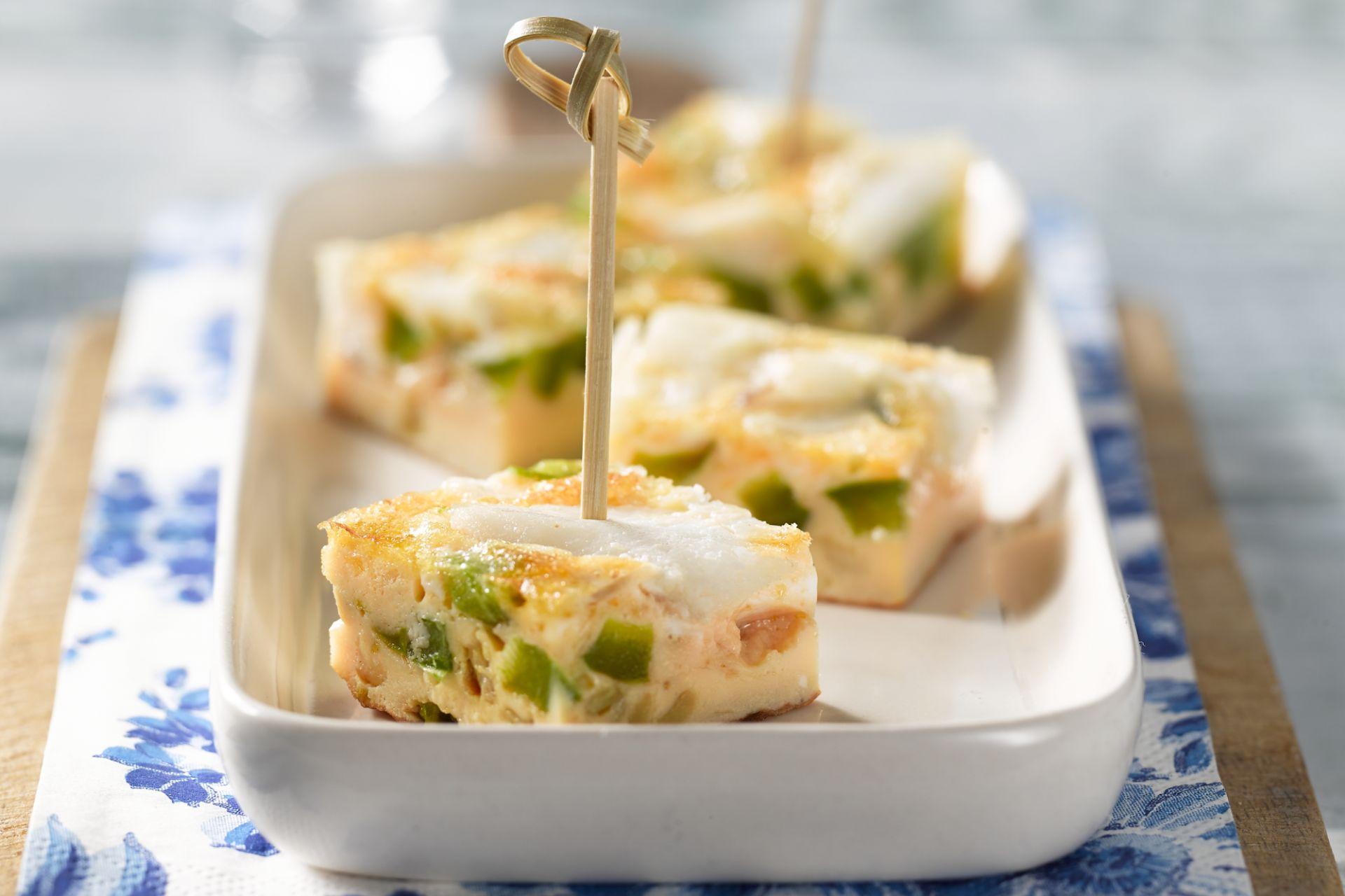 Tortilla met kabeljauw
