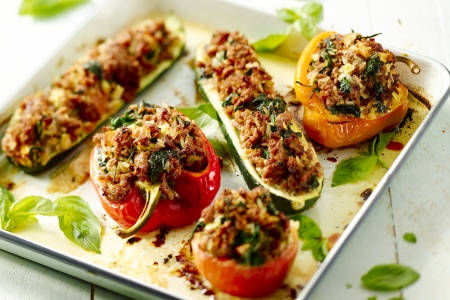 Gevulde mediterrane groenten
