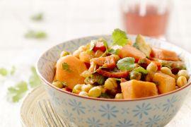 Foto van Marokkaanse groenteschotel