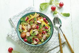 Foto van Quinoa salade met groentjes