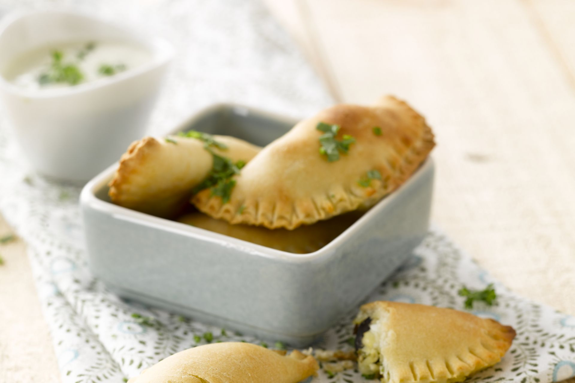 Empanadas met kip