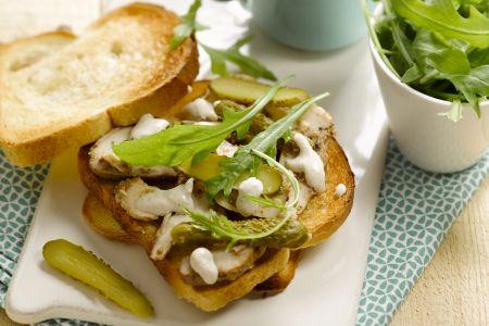 Sandwich pollo tonnato