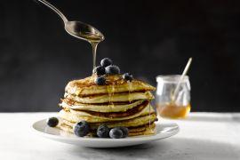Foto van American pancakes
