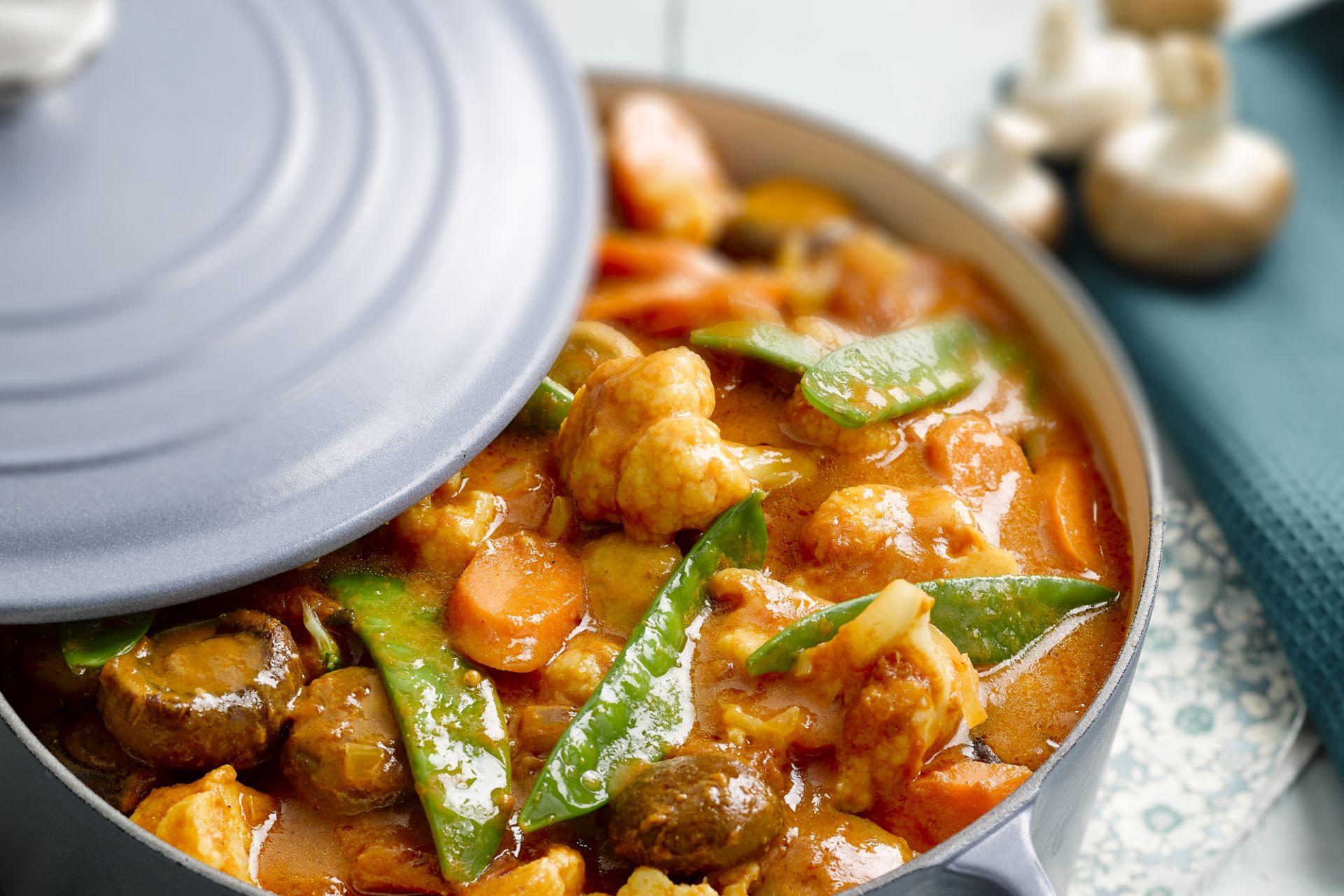 Indiase groentencurry