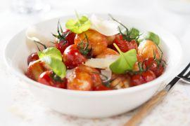 Foto van Gnocchi met tomatensaus