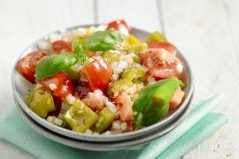 Foto van Marokkaanse tomatensalade