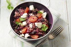 Foto van Quinoa taboulé met rode biet