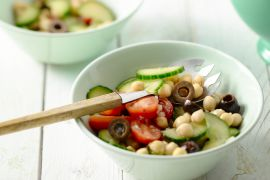Foto van Kikkererwten Salade
