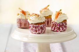 Foto van Wortel cupcakes