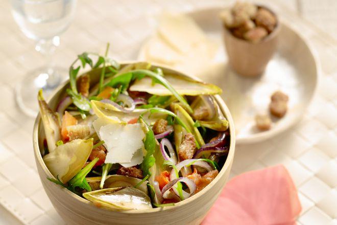Winterse salade met witloof