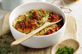 Foto van Lichte spaghetti bolognaise