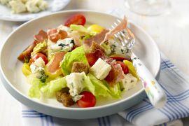 Foto van Gegrilde BLT salade