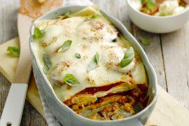 Foto van Vegetarische lasagne