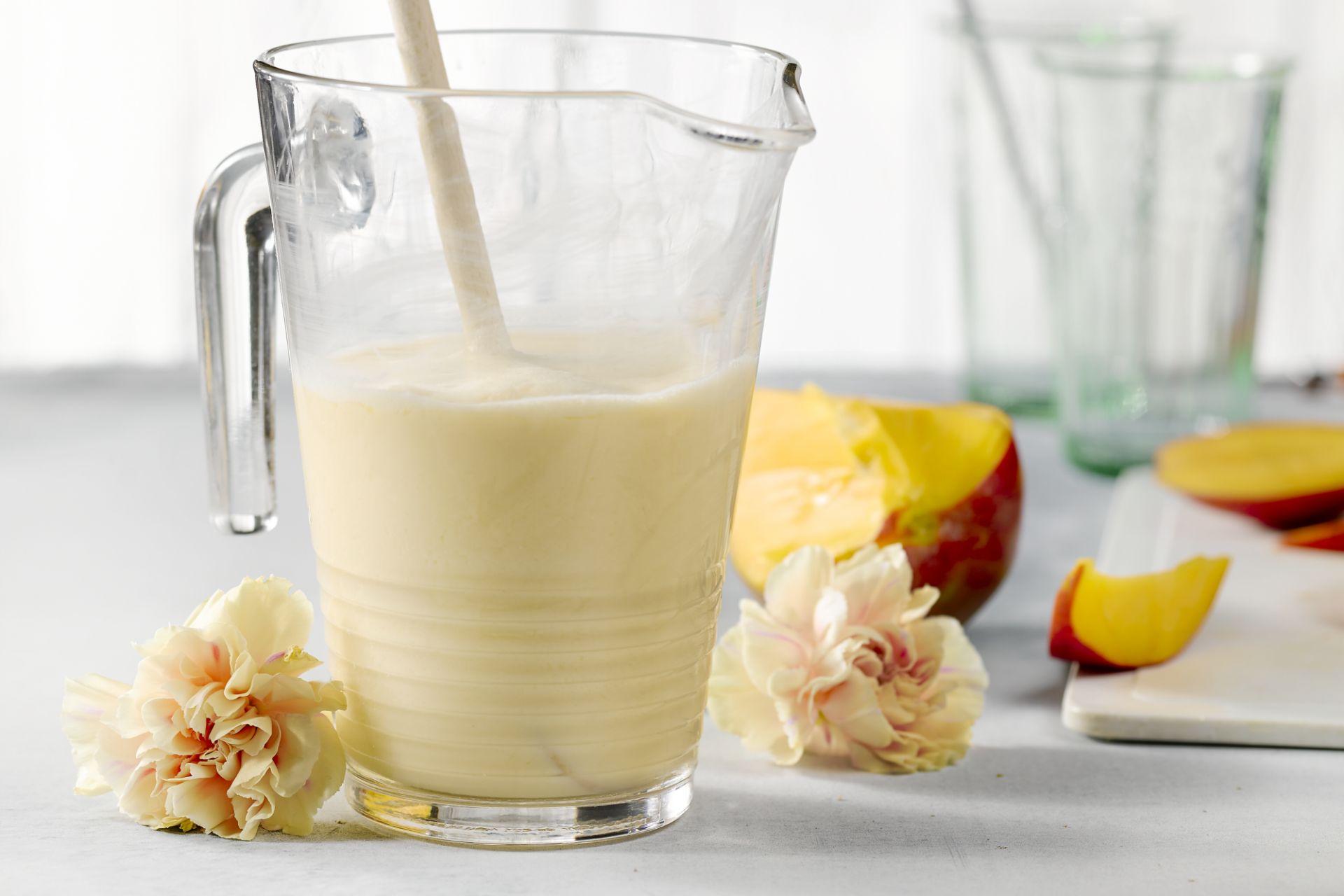 Abrikoos-mango smoothie