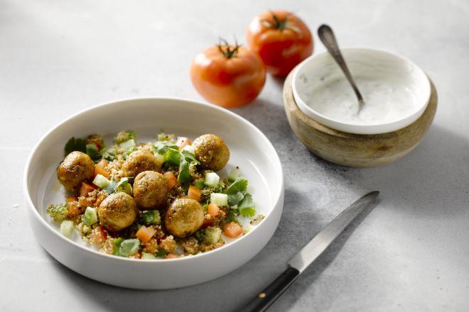 Kefta met kip en quinoa