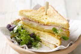 Foto van Monte Cristo sandwich
