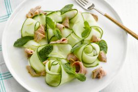 Foto van Thaise salade met rosbief