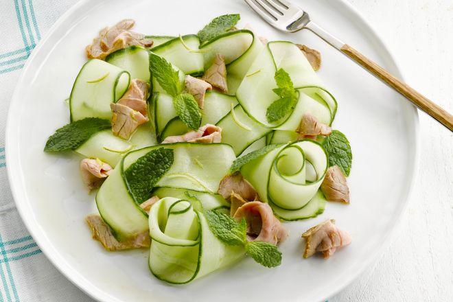 Thaise salade met rosbief