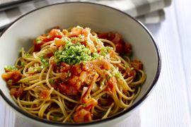 Foto van Spaghetti arrabiatta