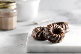 Foto van Chocolade tulbandcake