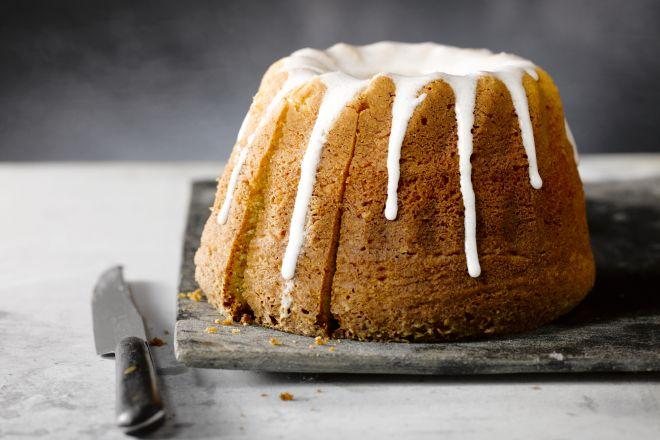 Een klassieke quatre quart cake