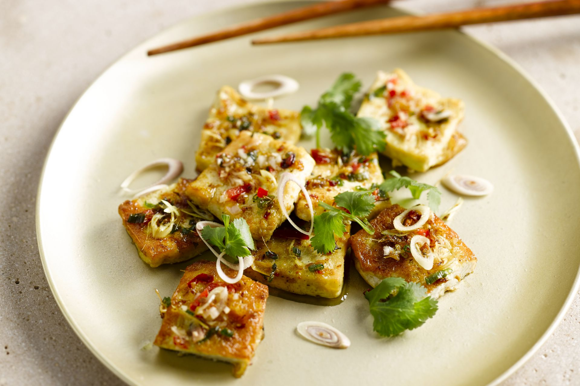 Tofu met citroengras