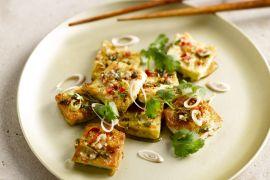 Foto van Tofu met citroengras