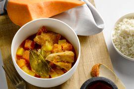 Foto van Caribbean kip curry