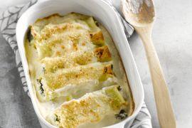 Foto van Cannelloni met boerenkool en ricotta