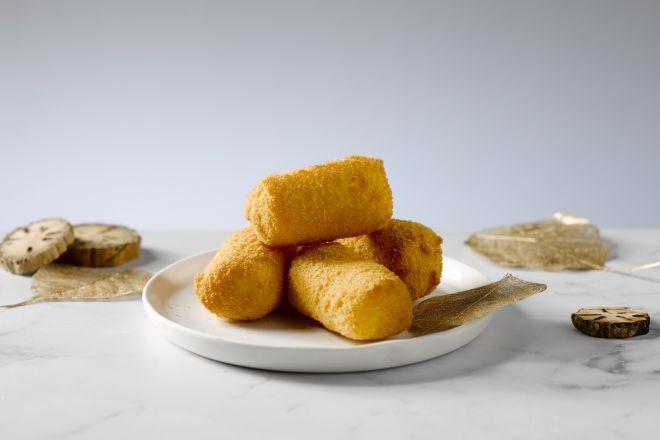 Zelfgemaakte aardappelkroketten
