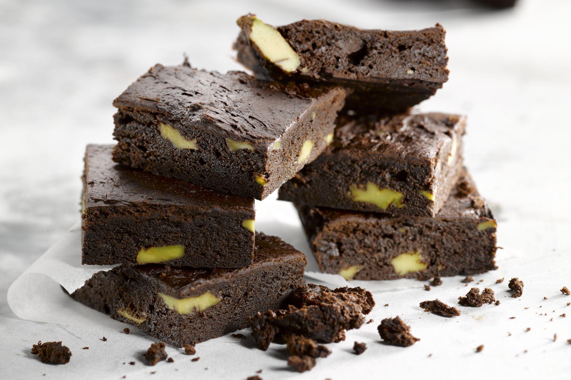 Avocado chocolade brownie