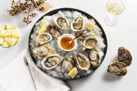Foto van Gemarineerde oesters