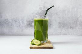 Foto van Groen sapje met appel en spinazie
