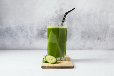 Groen sapje met appel en spinazie