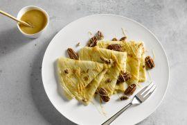 Foto van Pannenkoeken met dulce de leche