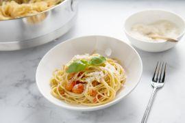 Foto van Pasta uit één pan