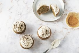 Foto van Irish coffee cupcakes