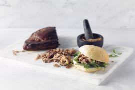 Foto van Pittige broodjes met pulled pork