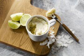Foto van Limoen-kokos mugcake