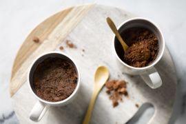 Foto van Chocolade-pinda mugcake